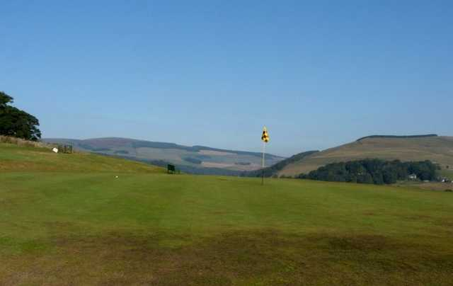 A view of green at Torwoodlee Golf Club