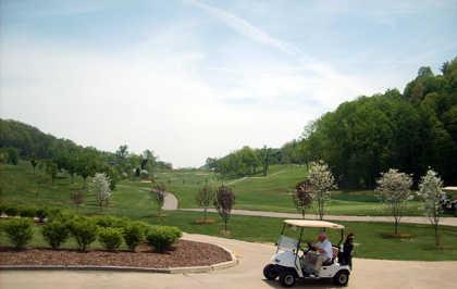 A view from Crockett Ridge Golf Course