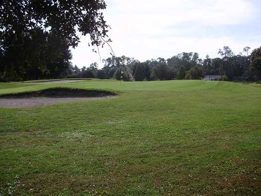 A view of a hole at Indian Lake Estates Golf & Country Club