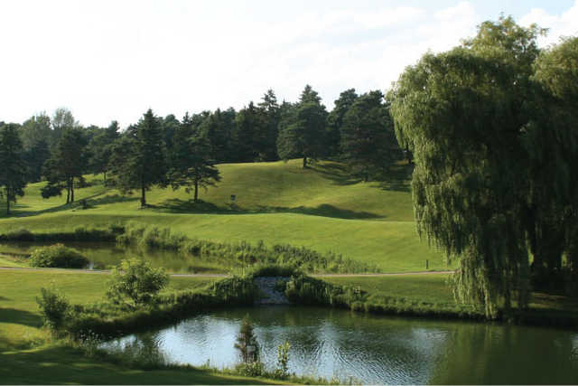 View from Pine Valley Golf Club