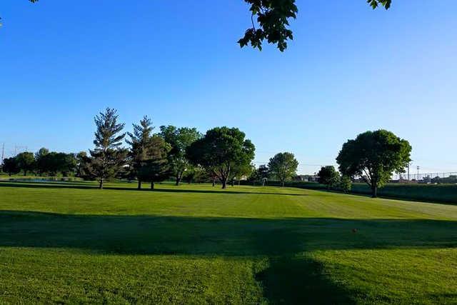 A view of a fairway at Milt's Golf Center