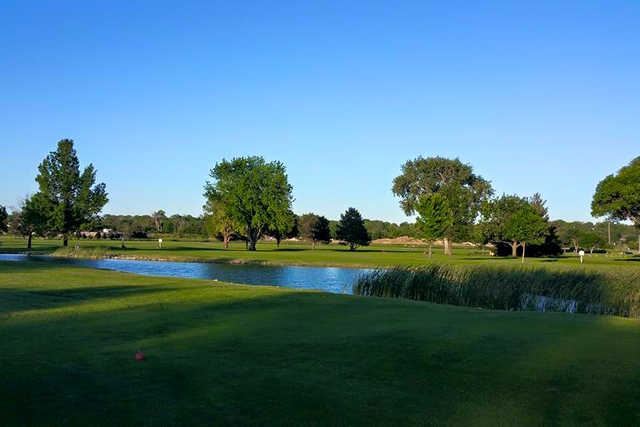 A view over the water from Milt's Golf Center