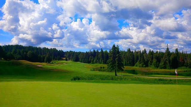 A view of green #14 at Black Diamond Golf Club
