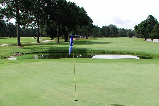A view of a hole at Tanglewood Golf and Country Club