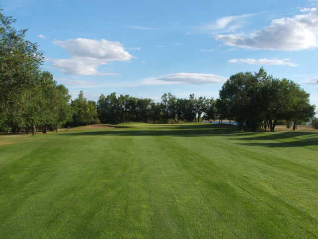 A view from a fairway at Harbor Golf Club and Resort