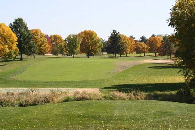 A view of fairway #11 at Kellogg Golf Course (Peoria Park District Golf).