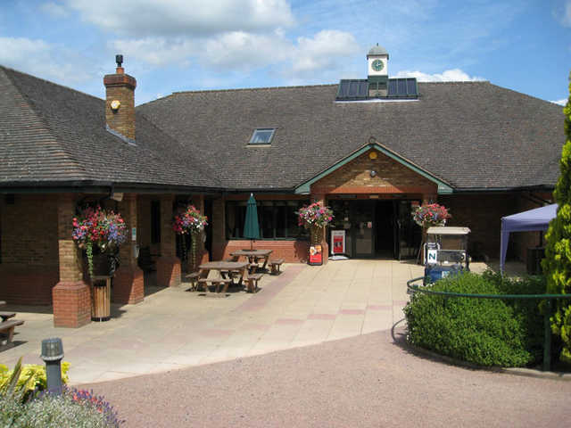 View frm Bromsgrove Golf Centre