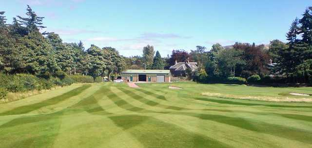 Fantastic conditions at Auchterarder on the 17th