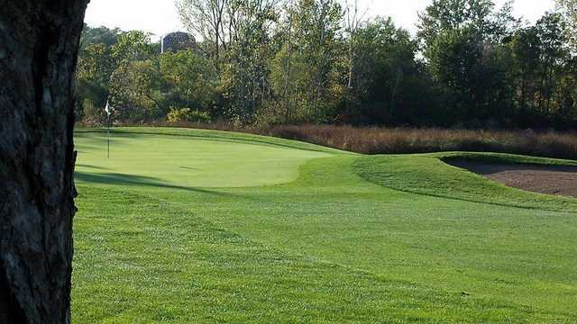 View of a green at Reid Park Golf Course
