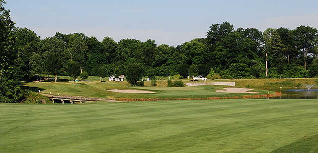 View of a green at Walden Ponds Golf Club