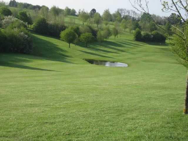 Forest Hills Golf Club's wide, undulating fairways with the ever-present water hazards