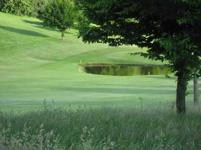 Water hazards are in plentiful supply around the course at Forest Hills