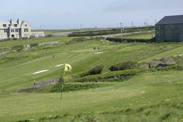Cape Cornwall Golf and Leisure sloping fairways