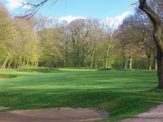 The 16th green at Belfairs Golf Course