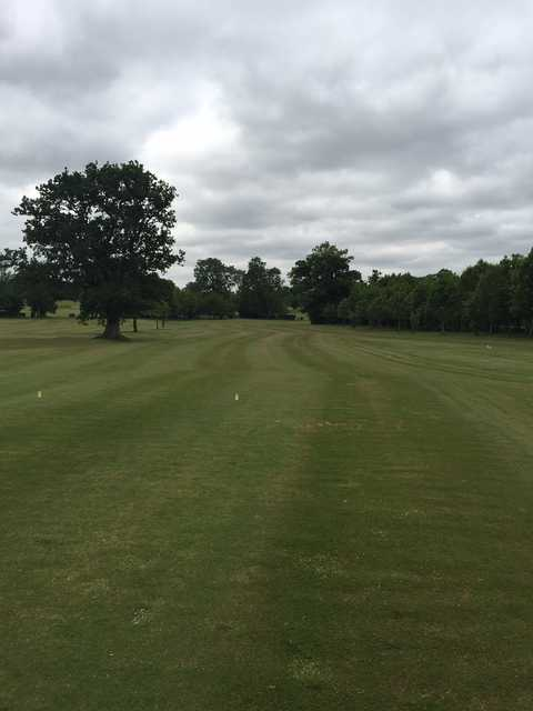 The 6th hole at Oaksey Golf Club