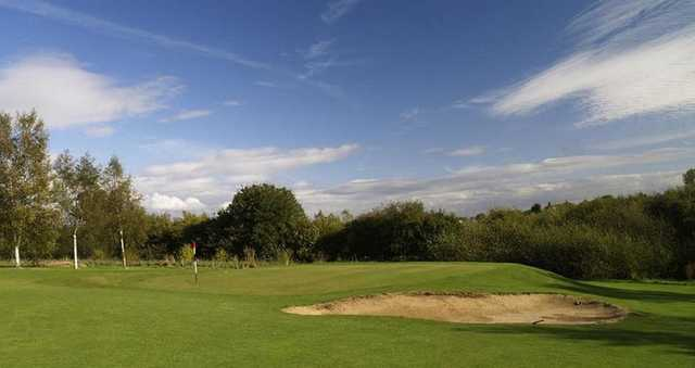 A look at the well-maintained greens at Brierley Forest