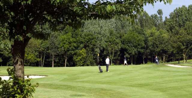 A look at the well maintained greens at Thorney Park Golf Club