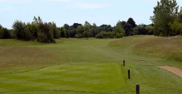 A tight tee shot at Thorney Park Golf Club