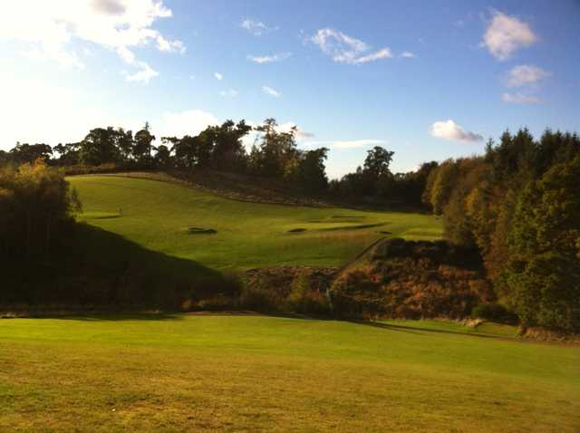 The 10th hole at Castle Park Golf Club