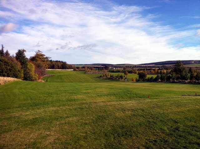 The 4th hole at Castle Park Golf Club