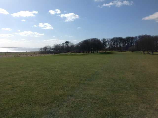 The middle of the 10th fairway at Bridlington Links