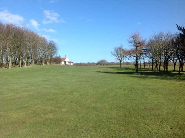 View from the 18th hole at Bridlington Links