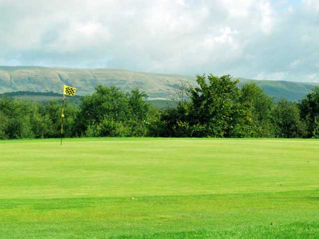 Greenside on the Cawder Course