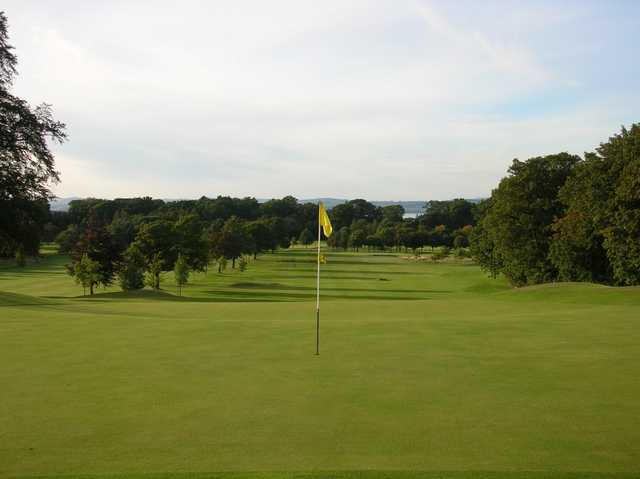 A look back from the green at Bruntsfield Links