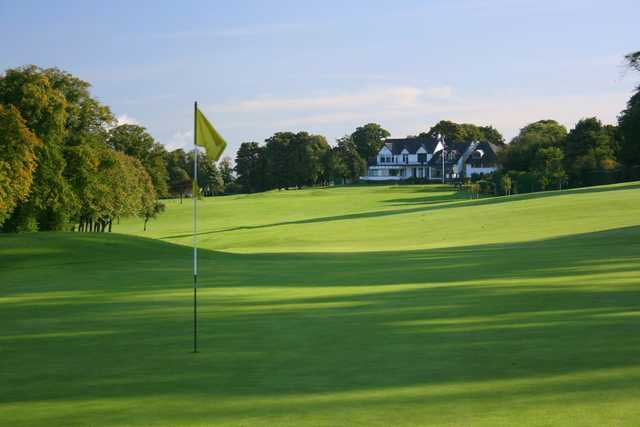 A look back at the clubhouse at Bruntsfield Links