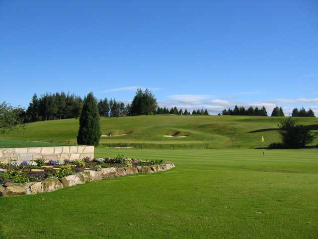 A look out onto Cathcart Castle Golf Course