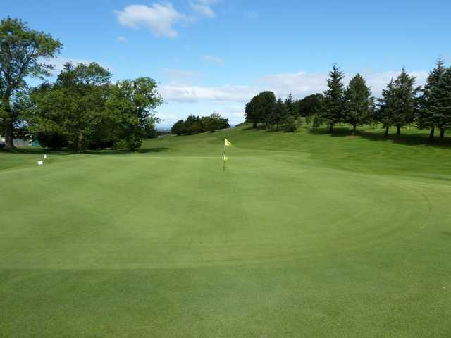 The 10th green at Cathcart Castle