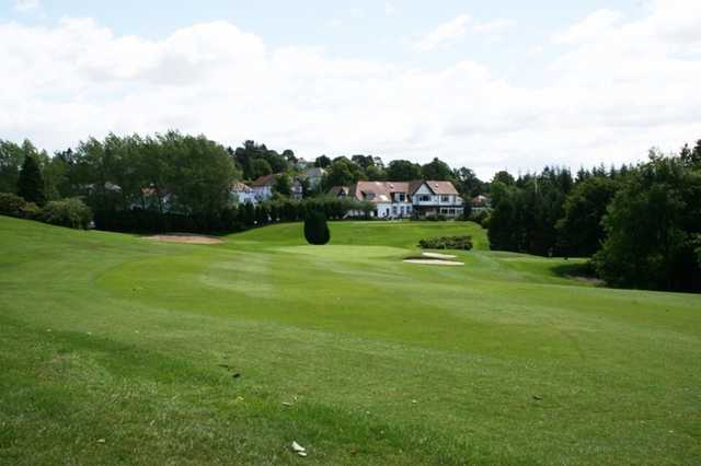 The 3rd hole at The Whitecraigs Golf Club