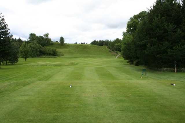 The 4th hole at The Whitecraigs Golf Club