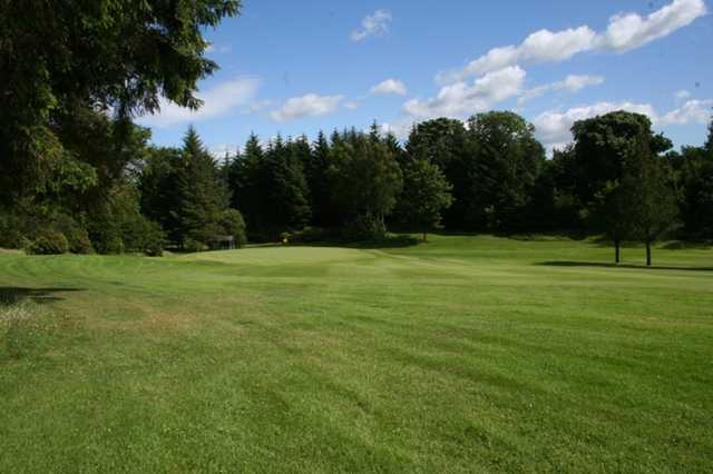 A look at the 10th hole at The Whitecraigs Golf Club