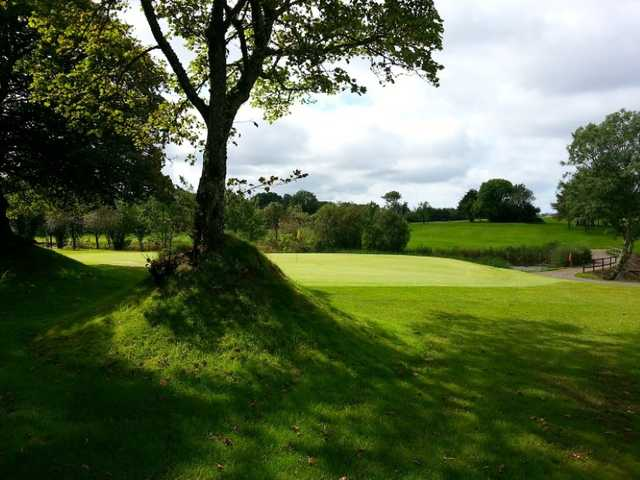 A great look back from the green at Haverfordwest Golf Course