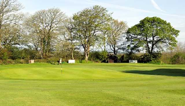 A look at the well-manicured greens at Haverfordwest Golf Course