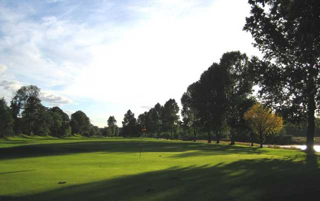 A view of green at St. Boswells Golf Club