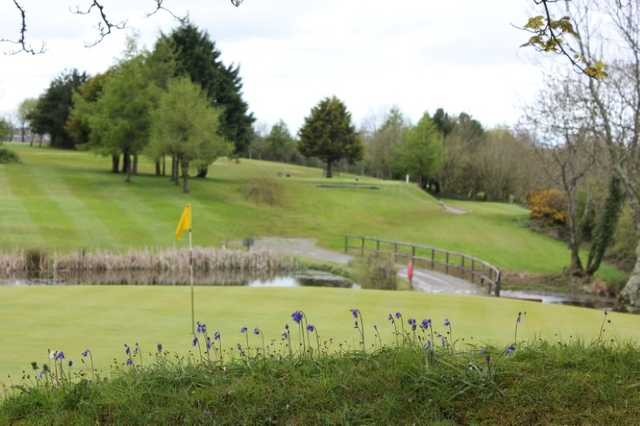 A beautiful view from behind the green at Haverfordwest Golf Course