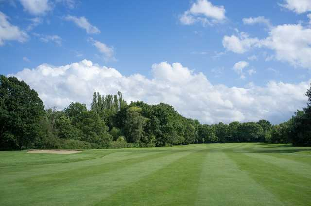 A view from a fairway at Malden Golf Club