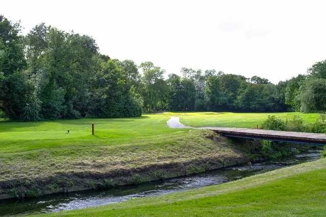 A tough looking par-3 at Malden Golf Club