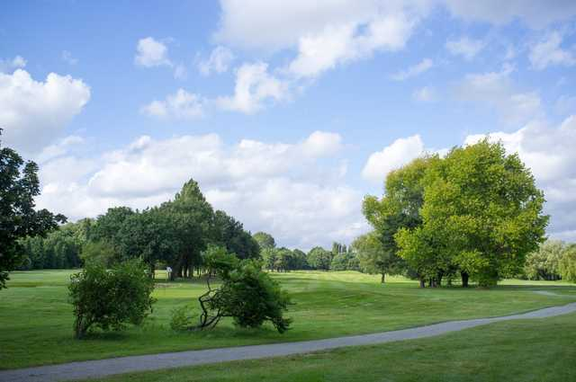 The beautiful tree-lined fairways at Malden Golf Club