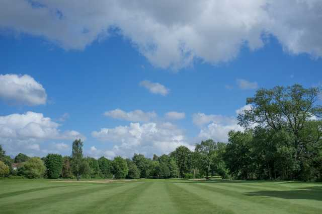The view from the middle of the fairway at Malden Golf Club