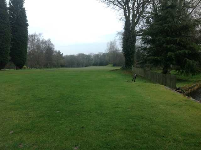 The opening hole at Wigan Golf Club