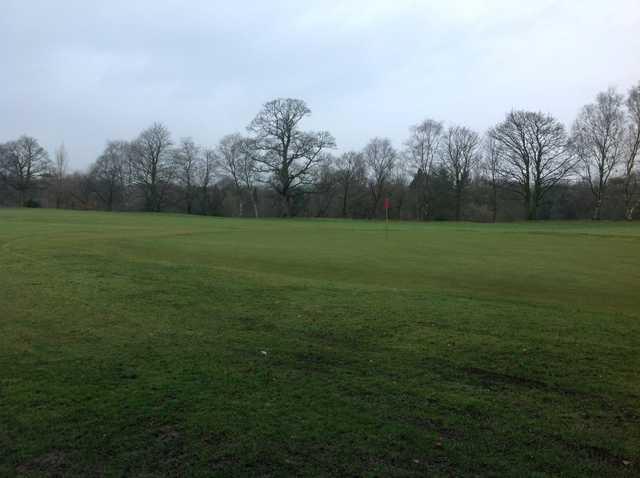 A look at the 10th green at Wigan Golf Club