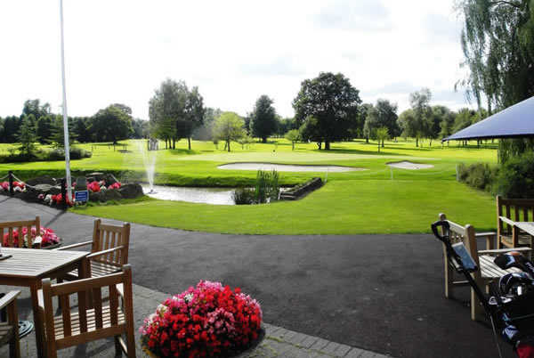A look at the tough finishing hole at Maxstoke Park Golf Club