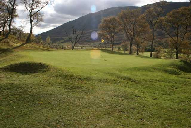 A look at the 6th green at Braemar Golf Club