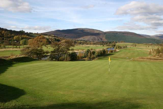 A look at the 2nd hole at Braemar Golf Club