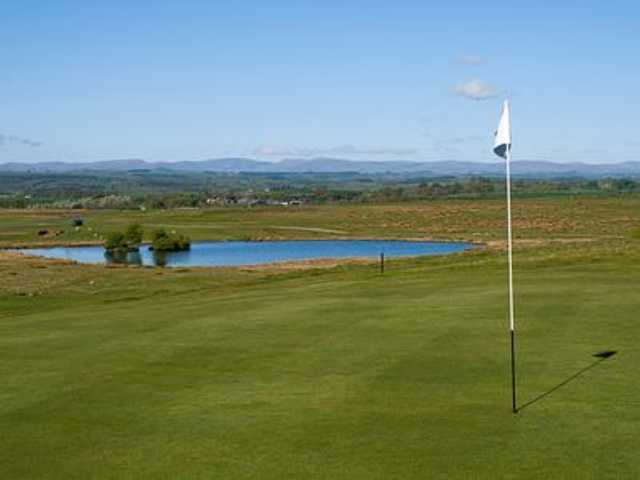 The 7th green at Appleby Golf Club