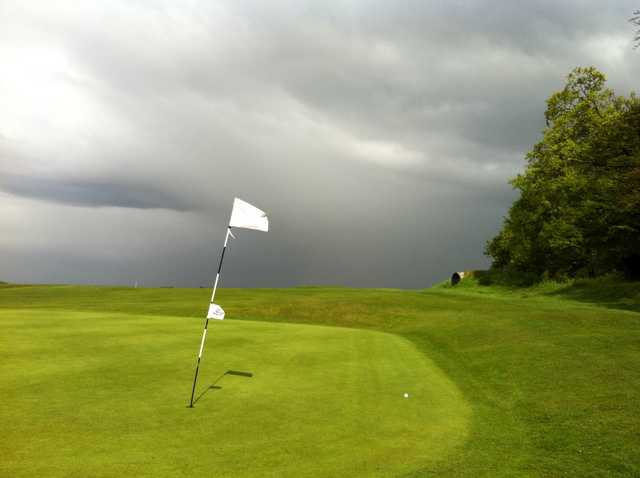 Looking back from the 4th green at Royston Golf Club