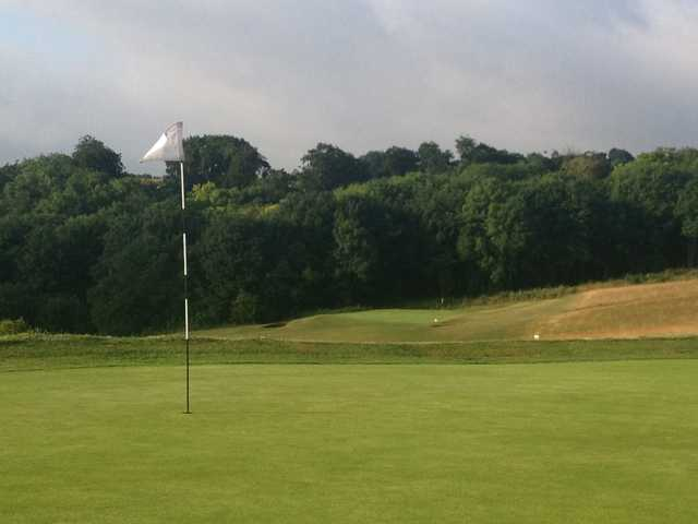 A look at the 1st & 3rd greens at Royston Golf Club